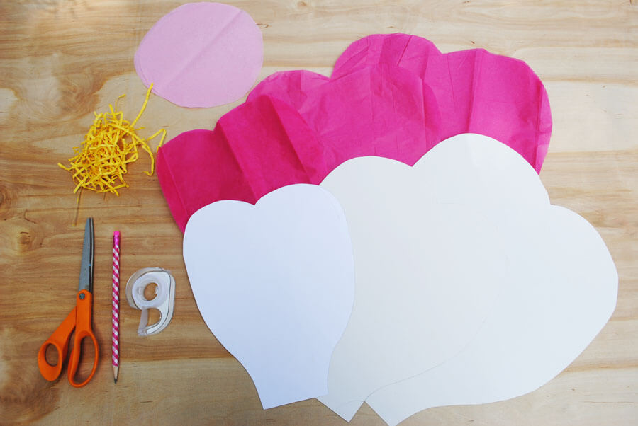 Tips Hints Giant Tissue Paper Flower Tutorial Poppartiesink
