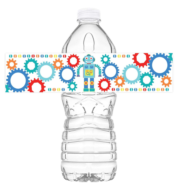 Set of 20 Princess Waterproof Bottle Labels