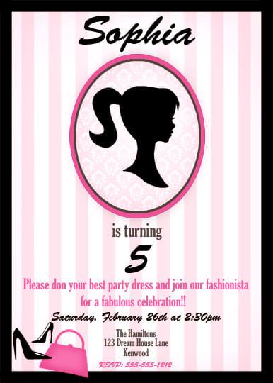 GWD Parties Sophias Vintage Barbie Inspired Party POPpartiesInkcom