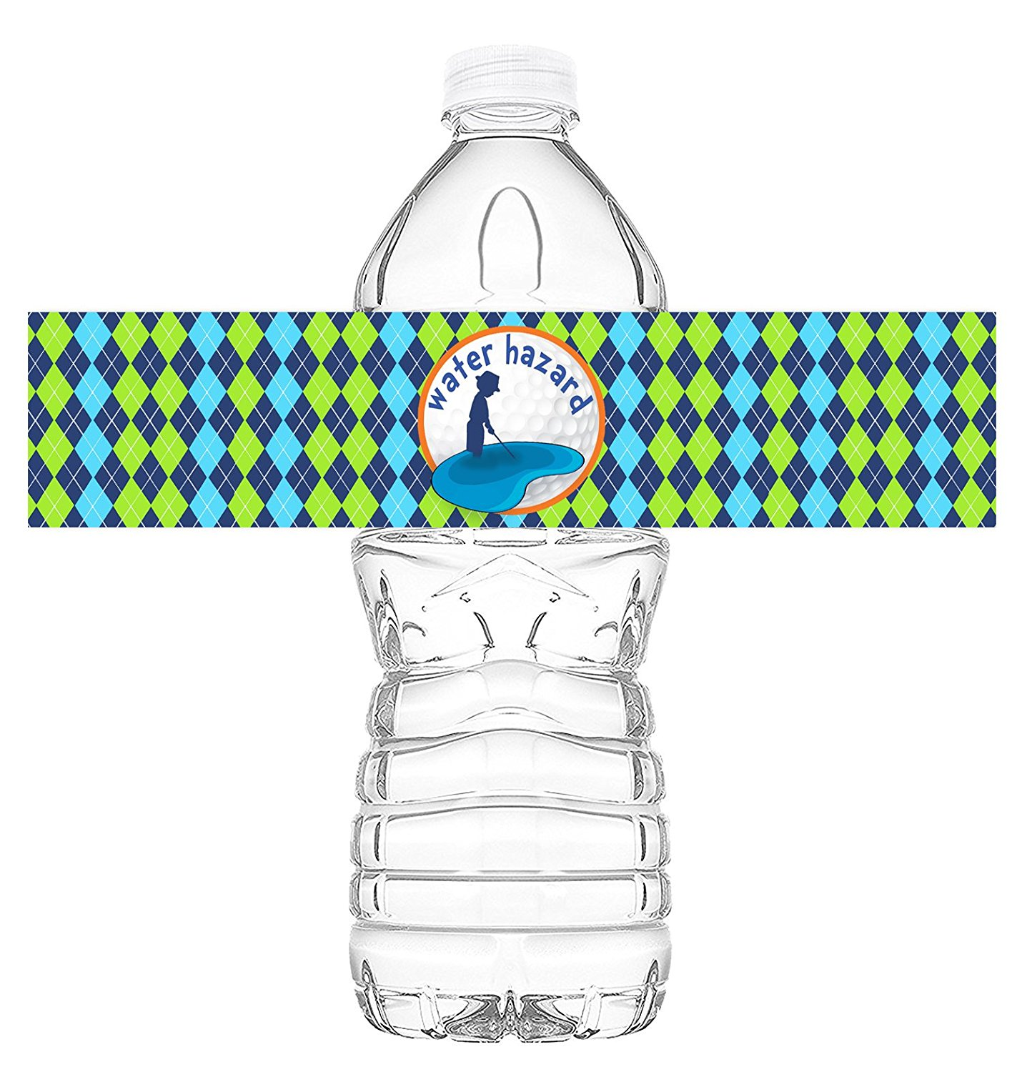 Golf Bottle Wraps 20 Golf Water Bottle Labels Golf Decorations