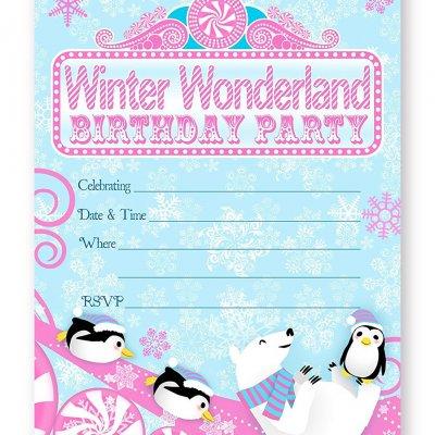 Winter Wonderland Product categories POPpartiesInkcom